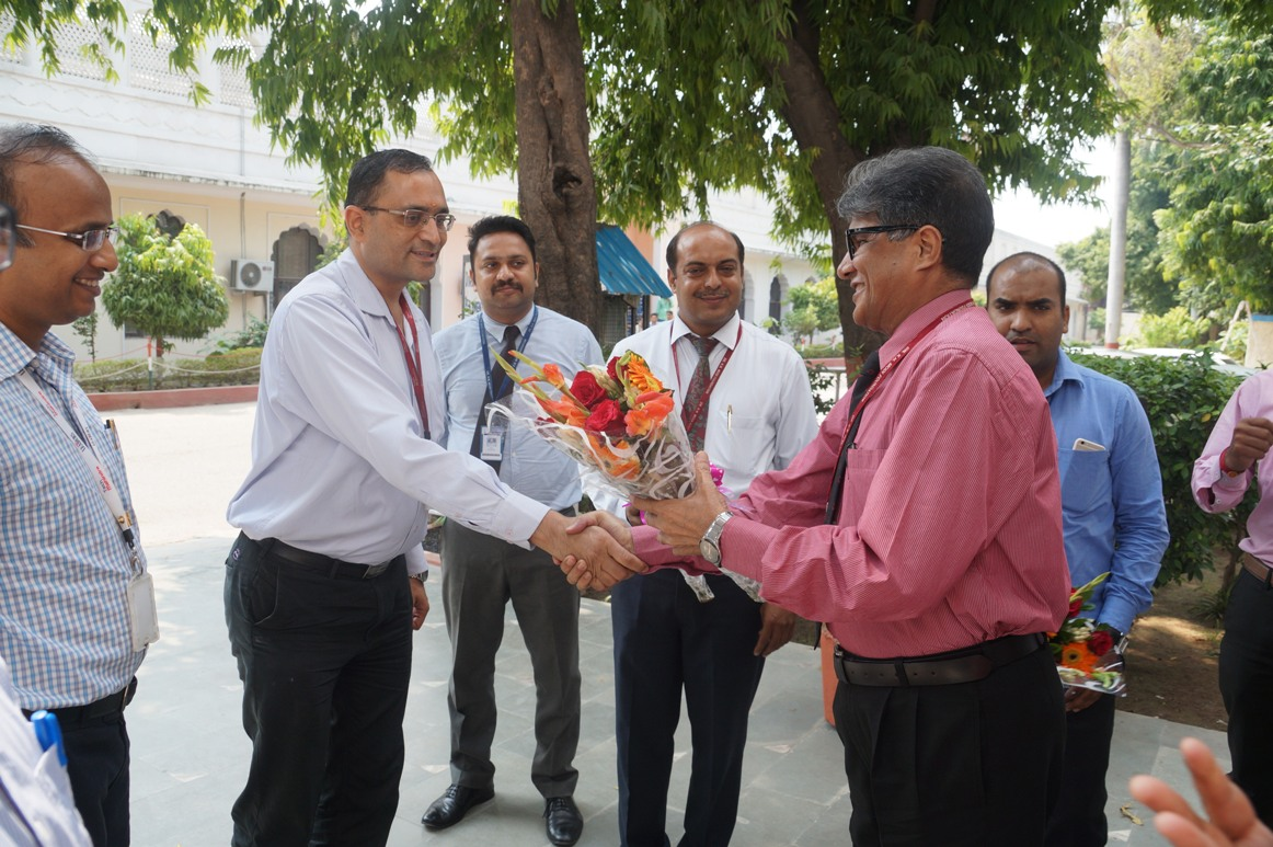 Tech Mahindra campus Visit