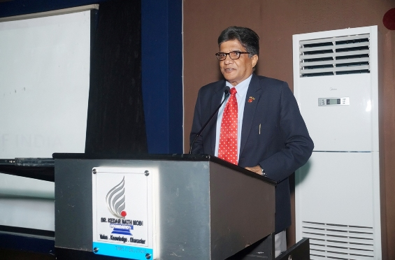 Guest lecture on Economic Transformation of India