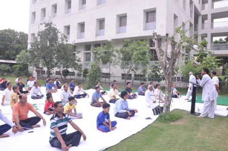 International Yoga day was 